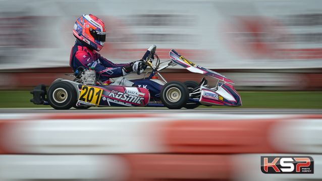 Basz loin devant en préfinale OK en 2020 Kart