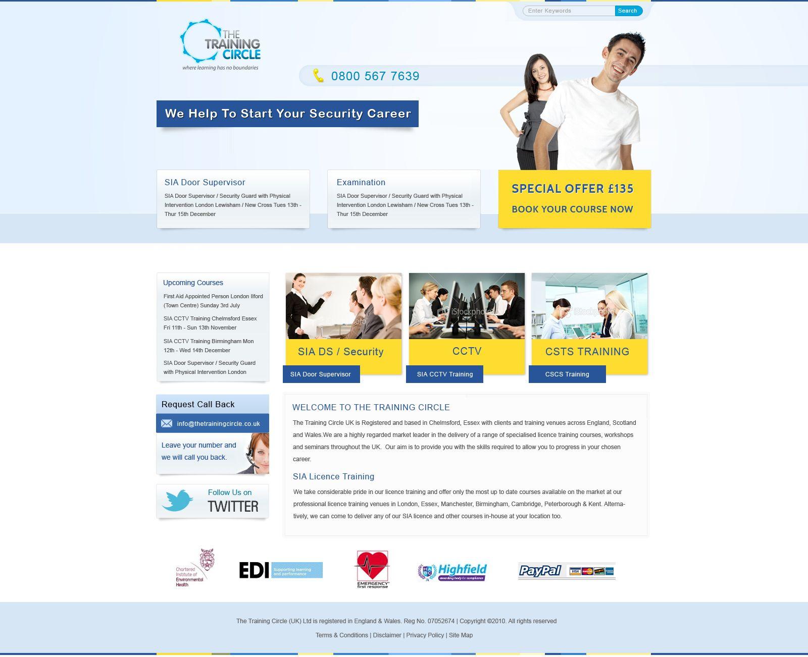 Mockup For Online Booking Call Backs Web Design Essex