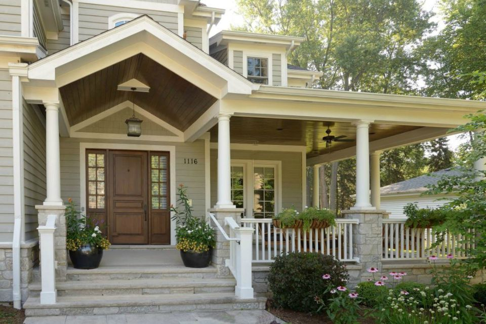 43 Porch Ideas For Every Type Of Home Porch Design Craftsman House Craftsman Style Homes