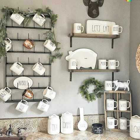 Fixer Upper Coffee Mug Rack Rae Dunn Collection Home Beautiful Decor Decor