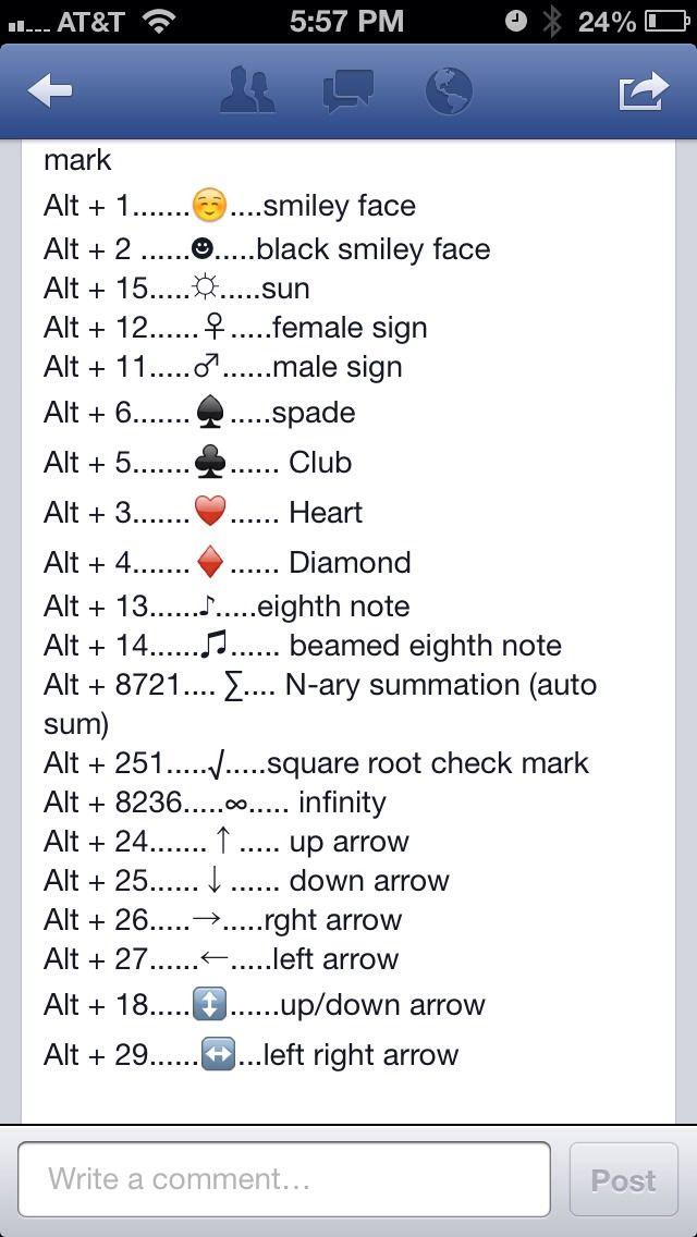 Do It Yourself Word Symbols And: Symbols, Keyboard Symbols, Tech Hacks