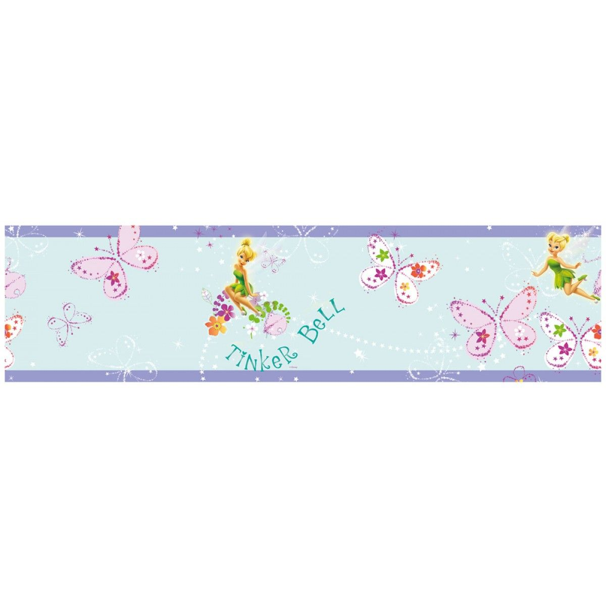 Disney Fairies Just Add Pixie Dust Self Adhesive Wallpaper ...