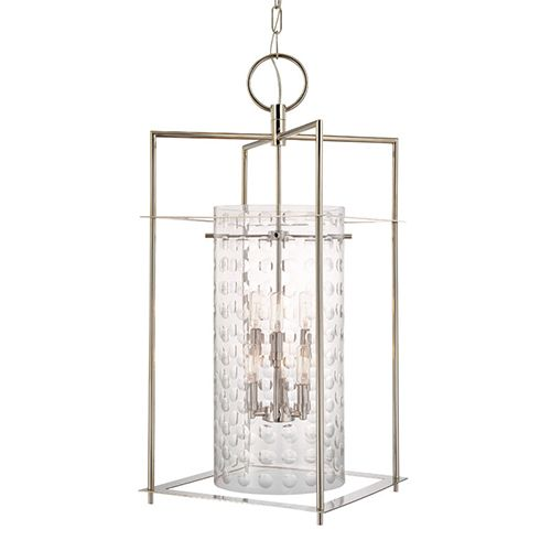 Capital Lighting Fixture Company Midtown Polished Nickel Two Light Lantern Pendant