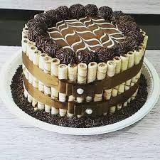 Resultado de imagem para bolo de brigadeiro