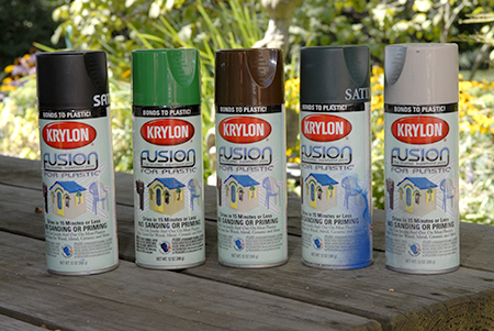 Krylon fusion spray paints for plastics work best for for How does spray paint work