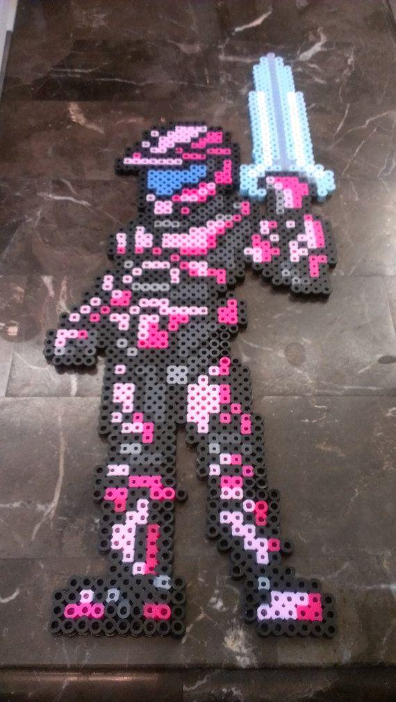 Pixel Halo Energy Sword Art