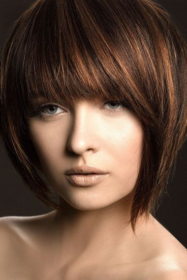 Amazing Dark Brown Hair Color Chart 12 Black Hair Color: Trendy-short-hair-styles-2012
