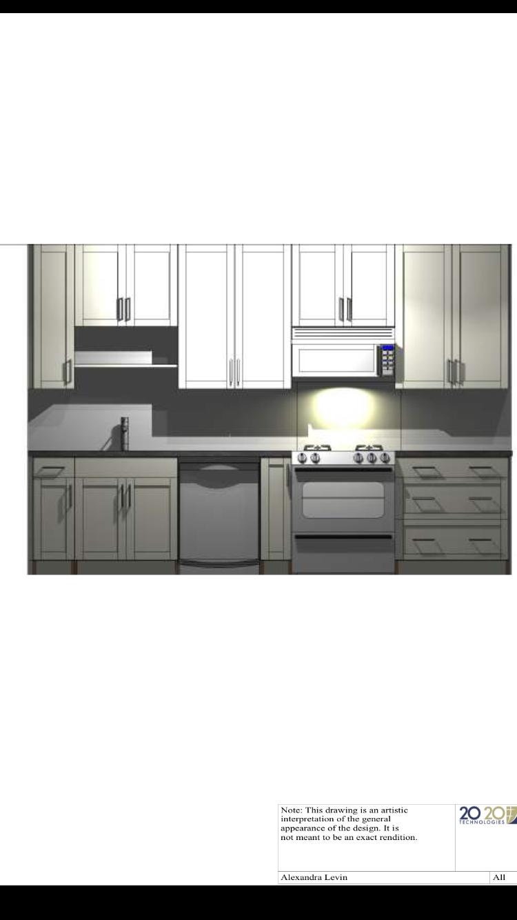 Kitchen Design Drawing 1 Sink Wall View Intelligent Kitchen Miralis Frameless Cabine Diy Kitchen Remodel Kitchen Designs Layout Kitchen Design Layout Modern