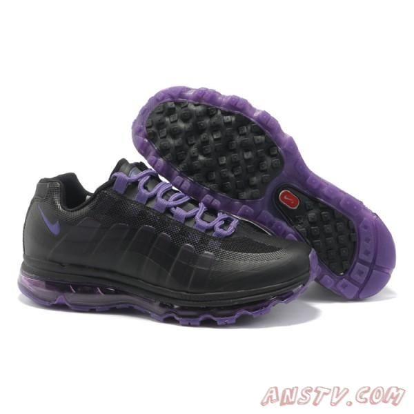 reputable site 4b871 3395b ... ireland air max homme hommes nike air max 95 360 noir violet running  7db7d 44ba7