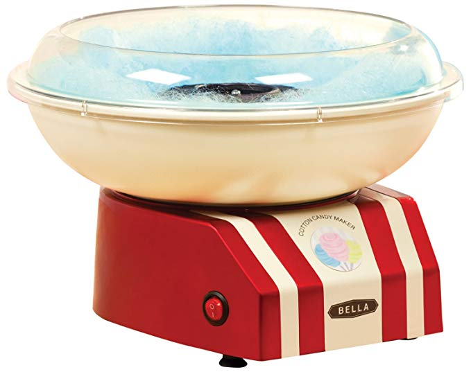 Amazon Com Bella 13572 Cotton Candy Maker Red And White Home Kitchen Cotton Candy Machine Cotton Candy Machines Candy Machine