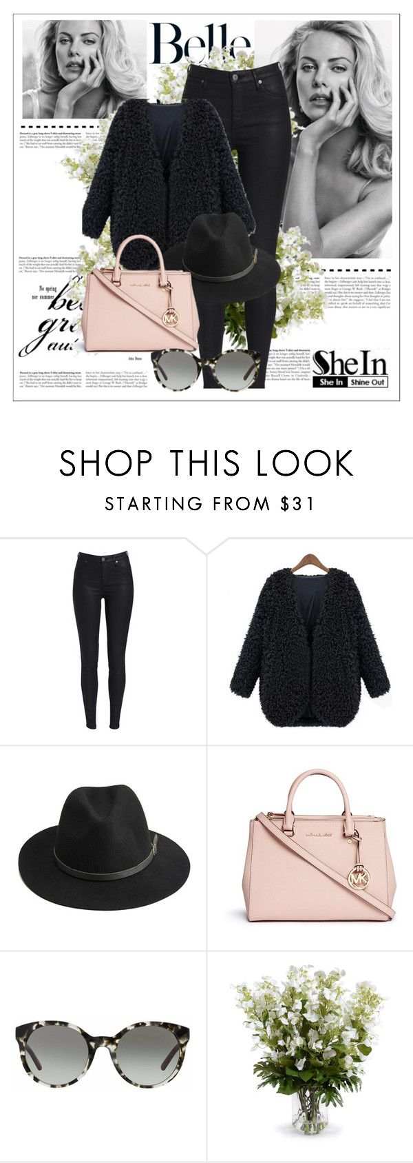 """Shein contest"" by dajana-miletic ❤ liked on Polyvore featuring BeckSöndergaard, Michael Kors, Tory Burch and New Growth Designs"