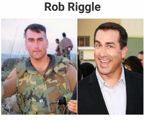 Semperfi Wishing Comedian Actor And Marine Rob Riggle A Very Happy 48th Birthday Today Rob Is Another On A Long List Of F Famous Veterans Military Comedians