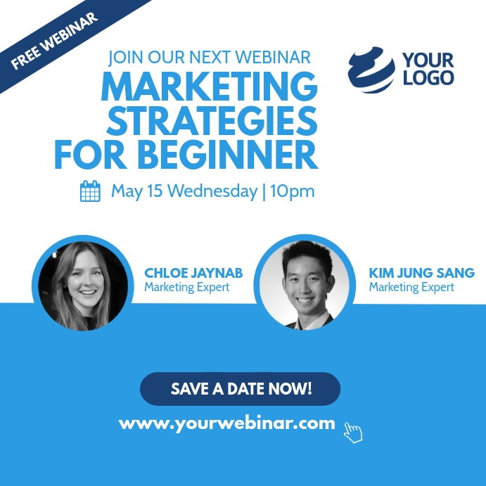 Pin On Webinar Live Event Template