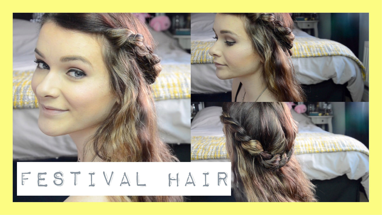 Festival hair tutorial with jmiejohnston ohhitsonlyalice