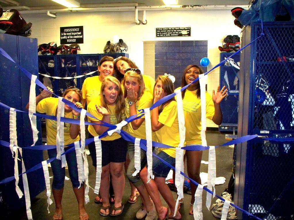 Locker Room Decor Football Spiritweek Piratepride