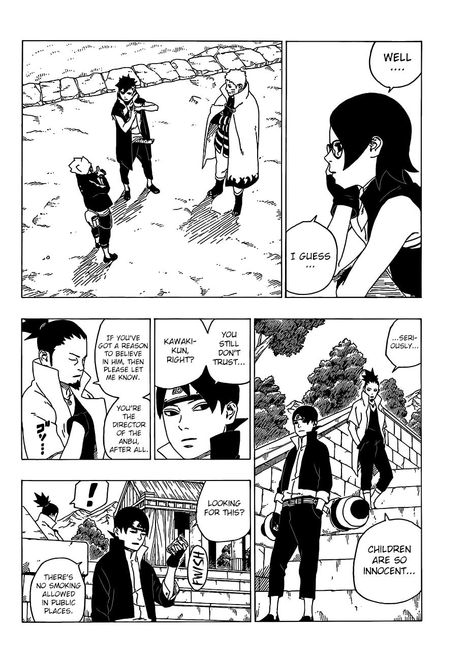 Manga Boruto 35 : manga, boruto, Boruto:, Naruto, Generations, Chapter, Jaimini's, Boruto,, Naruto,, Boruto
