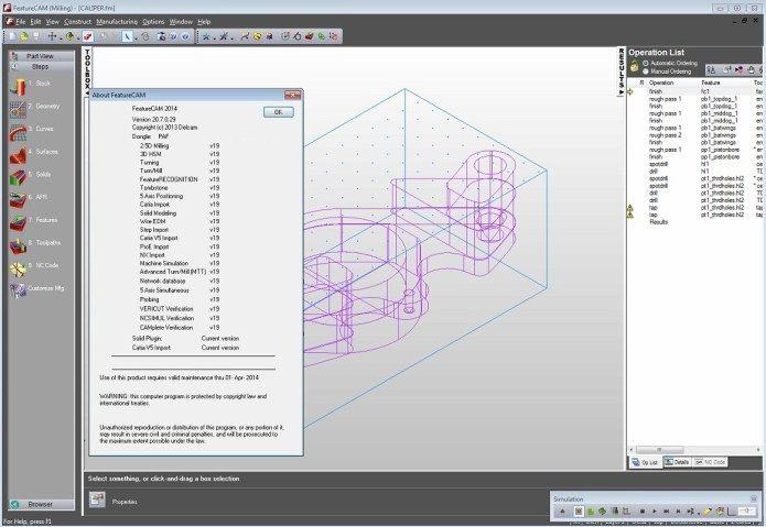 Lập trình gia công với phần mềm Delcam FeatureCam 2014 R2