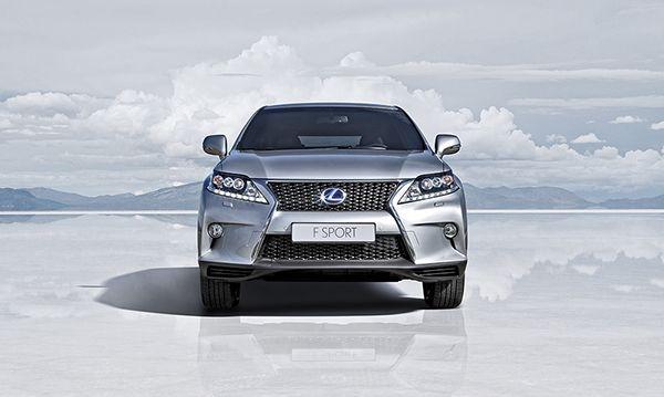 LEXUS RX 450h F SPORT on Behance Автомобили