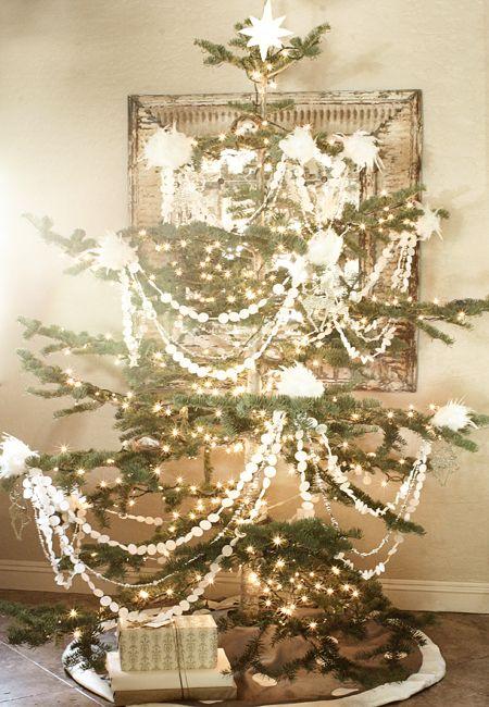 a real live christmas tree with dollar store walmart handmade decorations - Live Christmas Trees Walmart