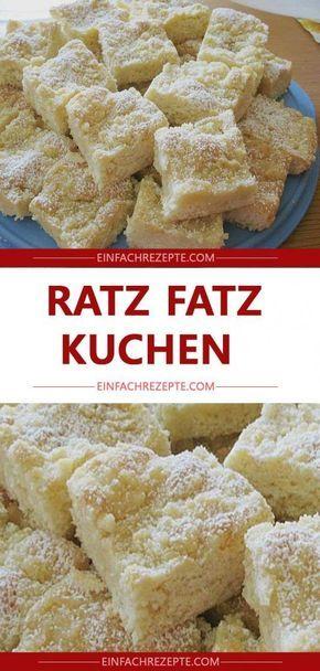 Photo of RATZ-FATZ-KUCHEN 😍 😍 😍