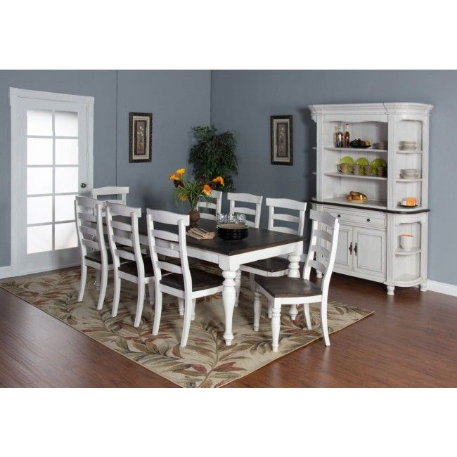 Sunny Designs Bourbon Country Rectangular Extension Dining Table