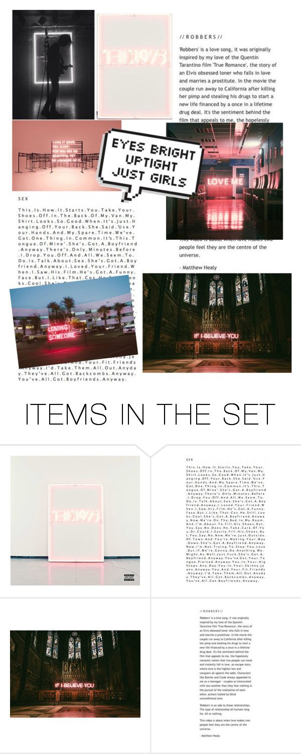 """The 1975"" by artsydreamer ❤ liked on Polyvore featuring art"