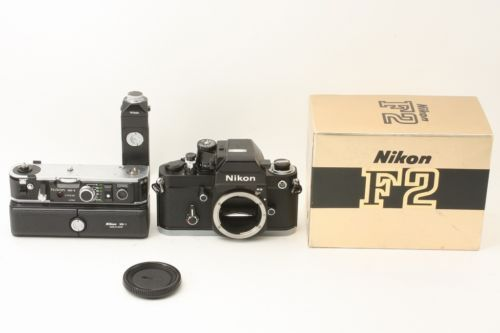Nikon F2 Titan Black AS Finder MD-2 MB-1
