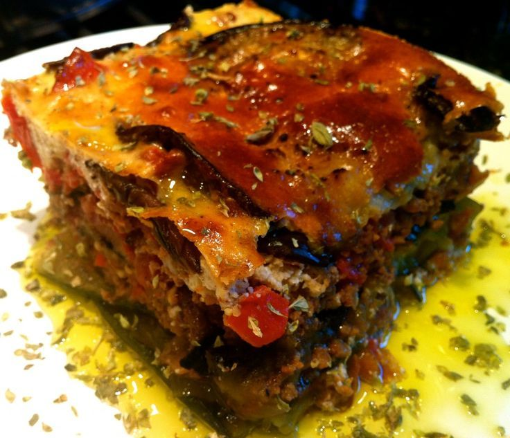 Moussaka Authentic And Traditional Greek Recipe: Greek Food Revamped: Stella's Low Carb Paleo Moussaka
