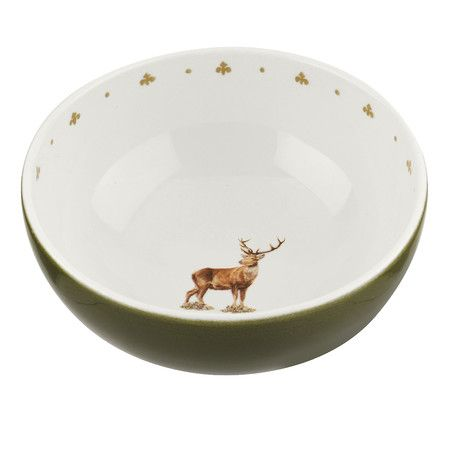 The Versatile Glen Lodge Stag Individual Fruit Bowl Can Be Used For Anything From A Salad To Ice Cream Popcorn Features Gl