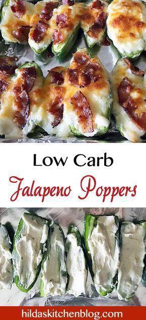 Jalapeno Poppers #lowcarbsnacks