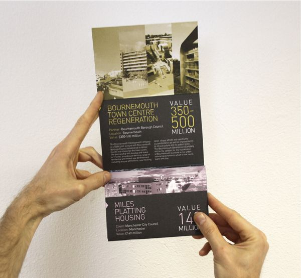 Morgan Sindall Investments Direct Mail by Jonathan Quintin, via Behance