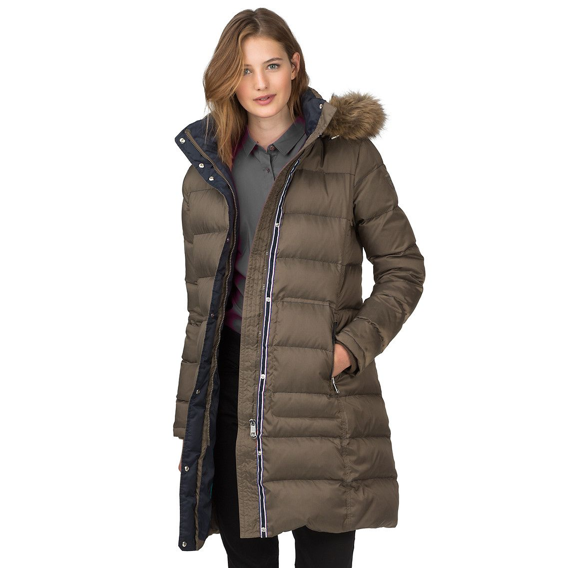 Grey verdant Northwood Down Coat from Tommy Hilfiger €359