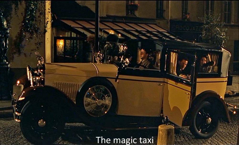 midnight in paris car | Film