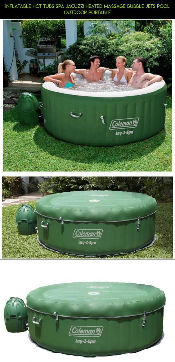 Inflatable Hot Tubs Spa Jacuzzi Heated Massage Bubble Jets Pool ...