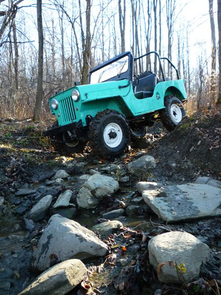 1955 Willys Cj 3b Kaiser Willys Photo Submitted By Brian