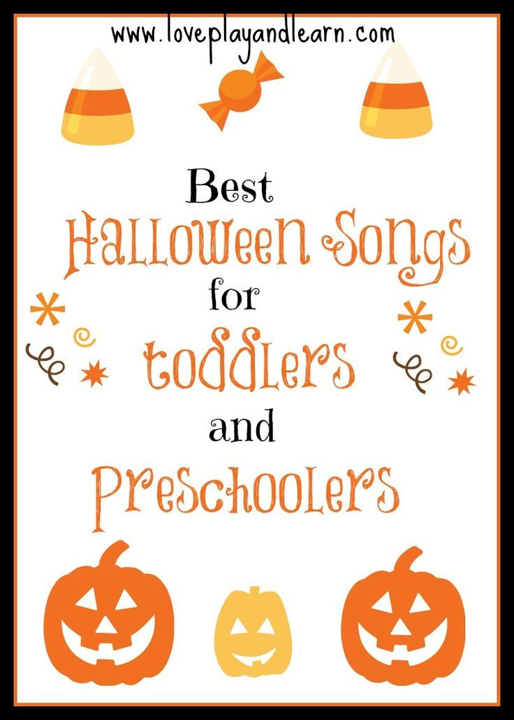 fall theme here is a list of our favorite children halloween songs with videos for toddlers and preschoolers - Halloween Songs For Preschoolers