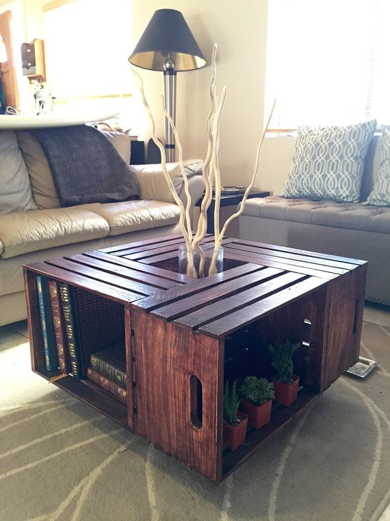42 DIY Ideas for Coffee Tables to Make You Say Wow Crates Diy