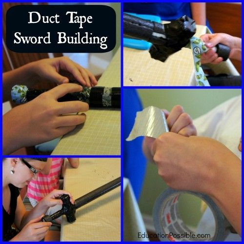 Photo of Duct Tape Weapons Help Bring Medieval History to Life