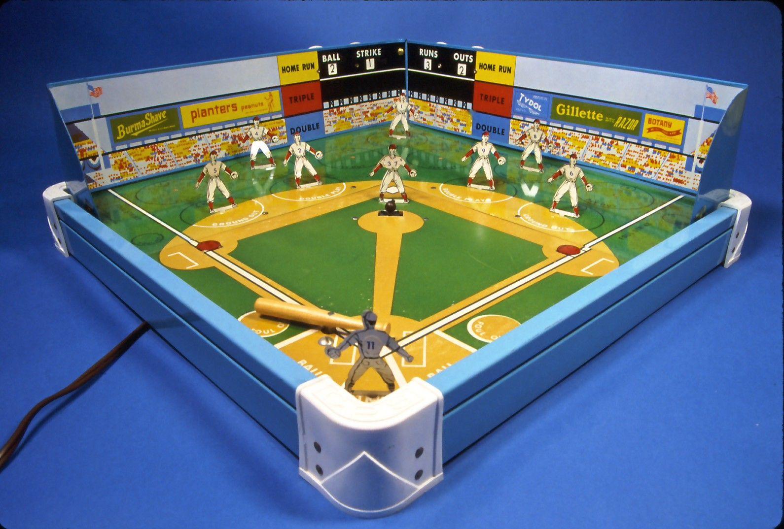 Gotham Pressed Steel Baseball Game. Early