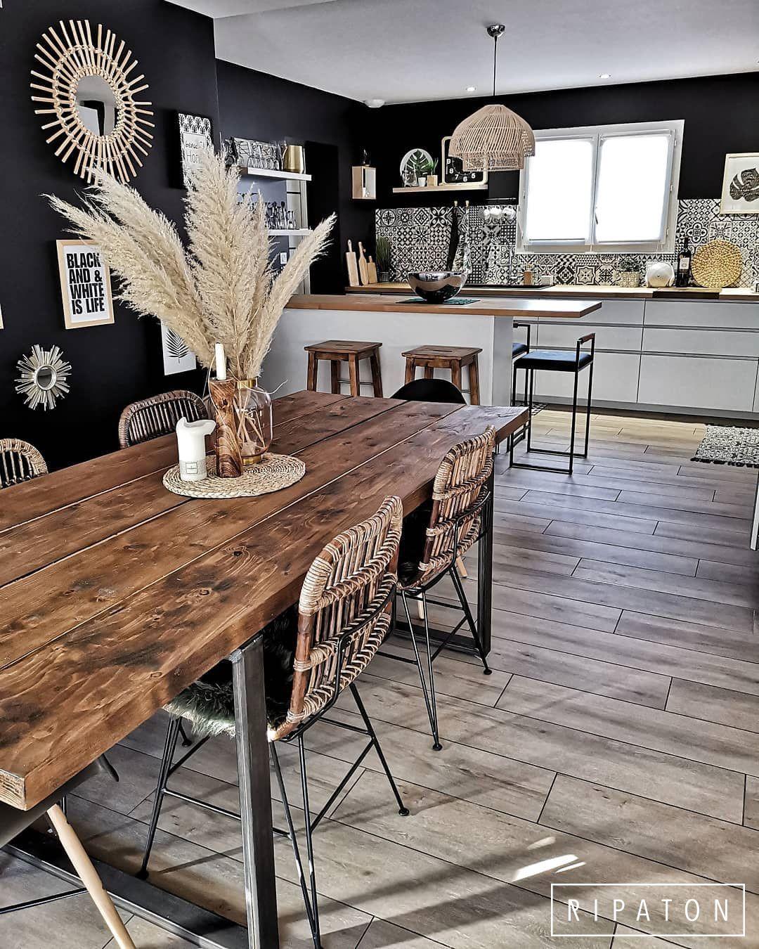 Atelier Ripaton - Pieds de table design en acier et hairpin legs - RIPATON