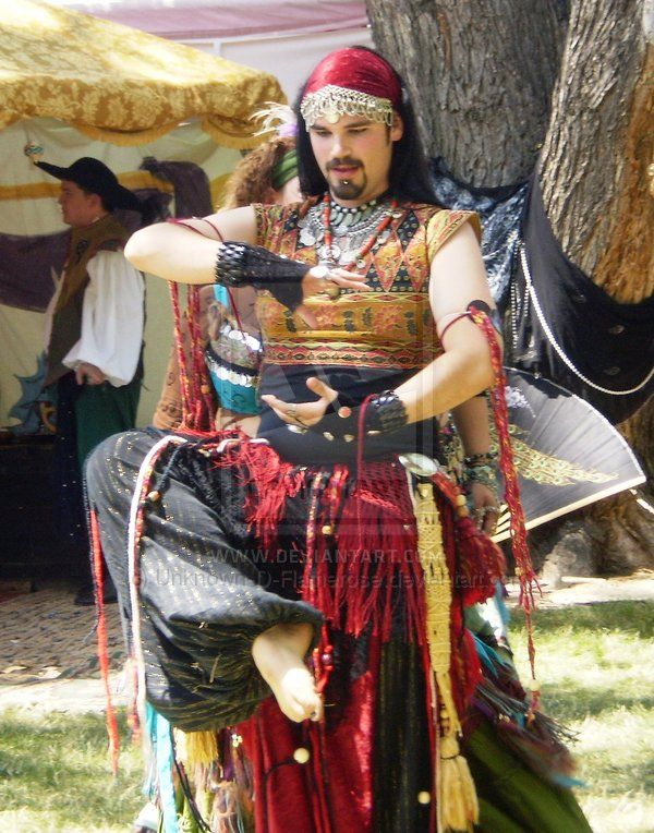 Greenwood Fair: Male Gypsy by Unknown-D-Flamerose ...