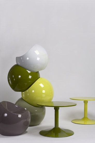 Design Kunststof Stoelen.Ball Chair Kunststof Design Stoel Voor Binnen En Buiten Xl Boom