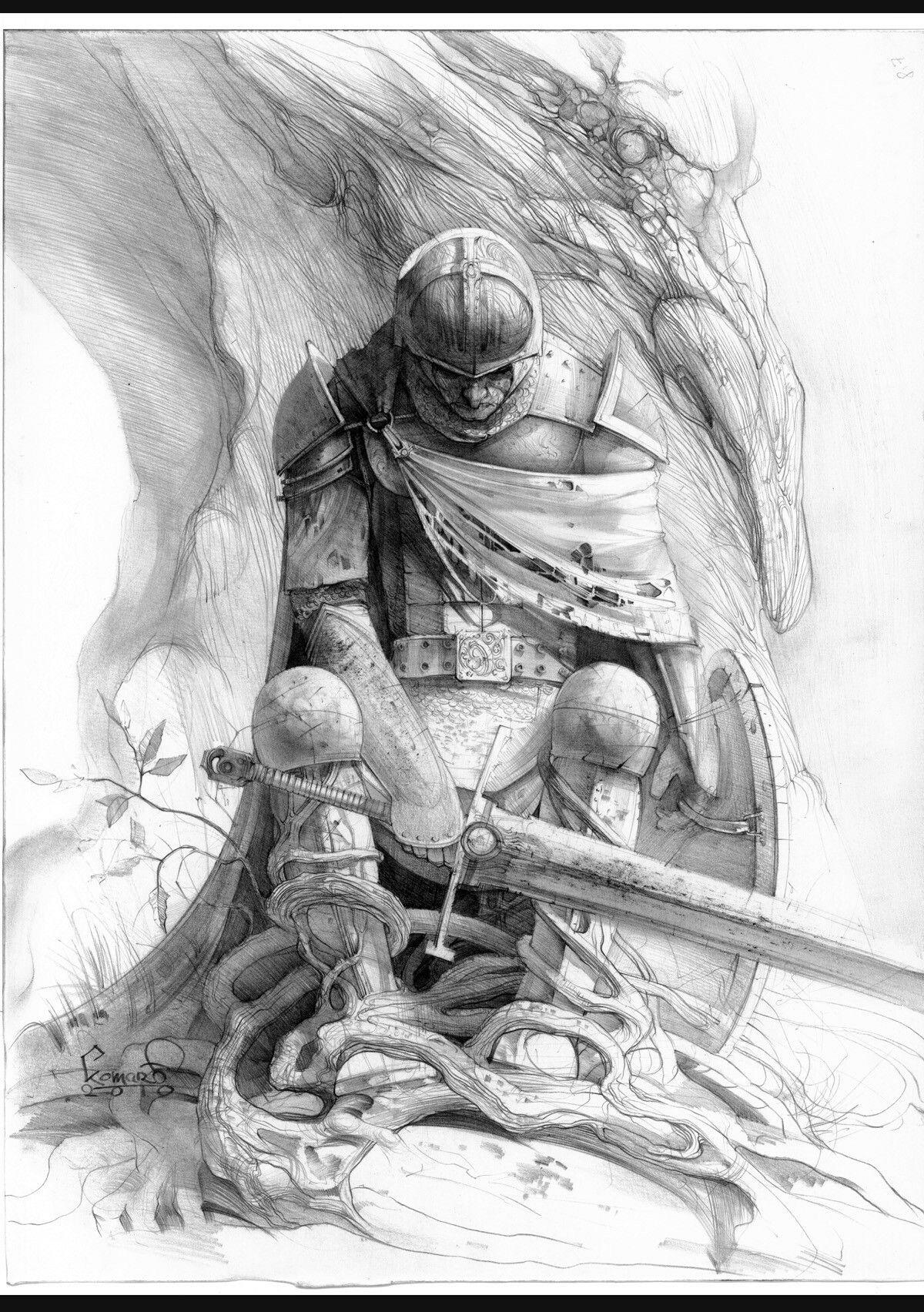 Картинки графика воины