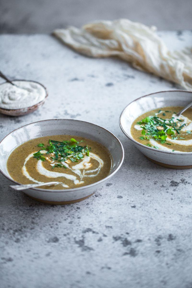 Broccoli Soup With Cashew Cream