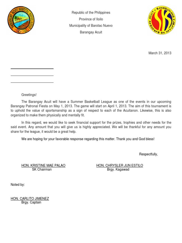 sle of solicitation letter solicitation letter pinterest