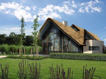 Landhuis modern vsap architects huizen t for Modern landhuis