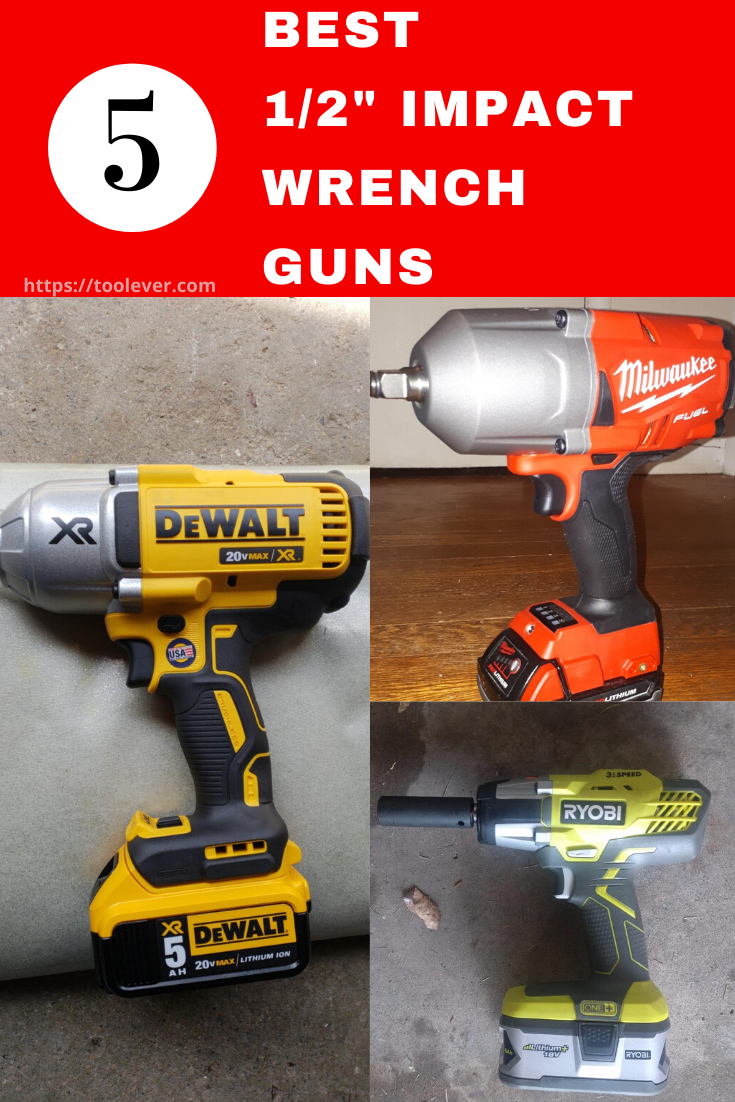Top 5 Best Cordless Impact Wrench Kits 1 2 Inch 2019 Review Impact Wrench