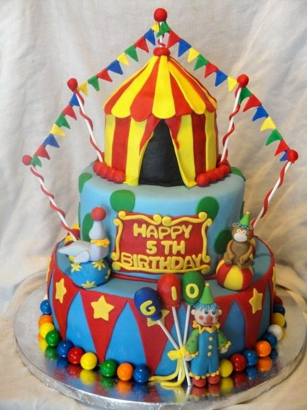 Clown Cake Topper For Birthday Parties Or Circus Events 1500 Via Etsy
