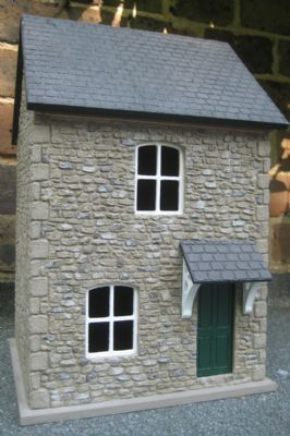Built And Externally Decorated Dolls House Very Realistic