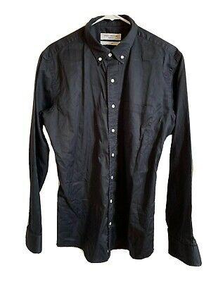 Spier & Mackay Handmade Custom Button Up Dress Shirt 15.5 Black Long Sleeve A3 #fashion #clothing #shoes #accessories #men #mensclothing (ebay link)